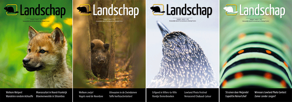 LANDSCHAP - covers jaargang 9
